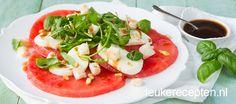 Watermeloen carpaccio