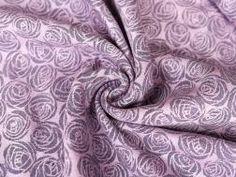 Roses Amor Hemp Organic Combed Cotton Toy Ring Sling | Oscha Slings