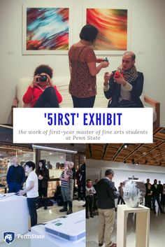 Penn State first-year master of fine arts students showcase their work
