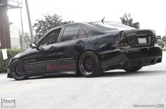 really nice black with red accents. rear splitter looks great.