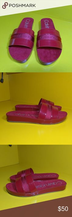 792c862c0712 NEW Calvin Klein Maddison Sandals Size 7 Women's - Unused without original  packaging - Colorway: