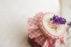 levendulás eper dzsem, lavender