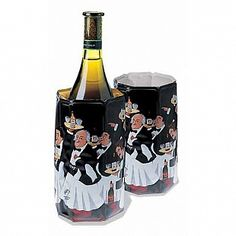 Vacuvin Rapid Ice Wine Cooler- Guy Buffet Waiters $12.94