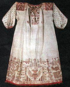 Russian peasant's dress