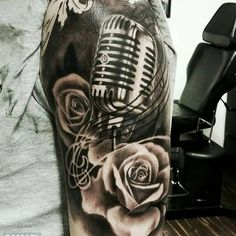 1,512 vind-ik-leuks, 5 reacties - Tattoos.com (@tattoosdotcom) op Instagram: '@Regrann from @nixtattooshow -  Anotjer great piece by @samaelcahill -  Little something from the…' Music Tattoos, Instagram Posts, Art, Musica, Art Background, Kunst, Performing Arts, Art Education Resources, Artworks