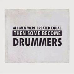 Drums Quotes, Drumline Shirts, Drum Instrument, Cable Drum, Drums Art, Drummer Gifts, Drum Lessons, Architecture Quotes, Gibson Les Paul