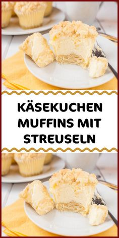 KÄSEKUCHEN MUFFINS MIT STREUSELN Ingredients for the ground and the crumble 125 g butter soft 125 g sugar 1 egg 250 g flour 1 tsp baking powder coated filling 500 g skimmed curd cheese 150 g sugar 150 Easy Chocolate Desserts, Chocolate Cake Recipe Easy, Chocolate Recipes, Easy Cake Recipes, Sweet Recipes, Oreo, Food Cakes, Cakes And More, Cheesecake Recipes