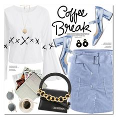 """Coffee Break"" by oshint ❤ liked on Polyvore featuring Jacquemus and Givenchy"
