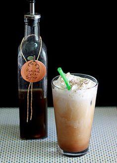Pumpkin Spice Iced Coffee | Kitchen Treaty
