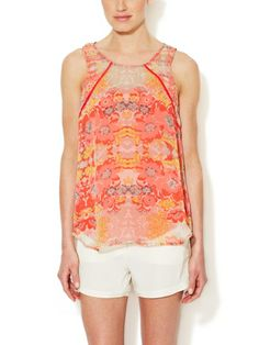 Silk Piped Tank Top by Ella Moss on sale now on #Gilt. #fashion #style