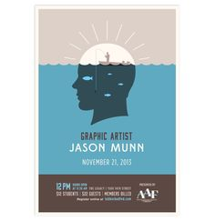 Jason Munn Poster by Armando Godinez Jr., via Behance