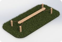 Wooden Suspended Plank for School Playgrounds Made in the UK  Playground imagineering