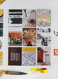 Scrapbook Sunday Messy Box-November