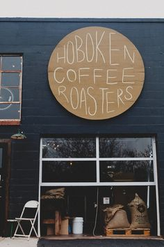 Hoboken Coffee Roasters in Guthrie! I really want to try this place! I heard they have GREAT coffee! #keepitlocalok