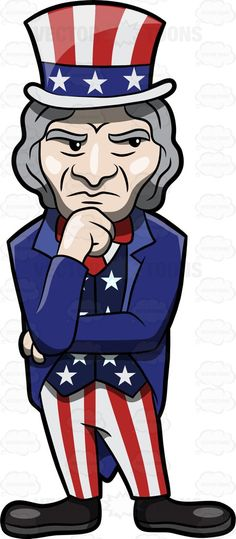 A wondering and questioning Uncle Sam #America #american #Americangovernment #beard #blue #bowtie #character #costume #curious #fancyhat #fictionalcharacter #fictitiouscharacter #figure #graffiti #grayhair #guy #hat #individual #inquisitive #longhair #male #man #national #nationalpersonification #oldman #pants #political #questioning #red #SamWilson #SamuelWilson #serious #speculative #stars #stern #stripedpants #stripes #tailcoat #tie #UncleSam #unclesamcostume #unclesampicture…