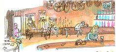 Radfahren und Trinken – fragt sich nur was