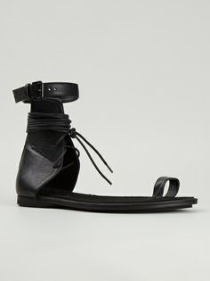 Ann Demeulemeester - lace-up sandal