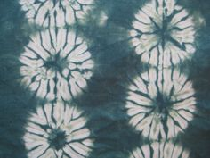 Shibori Fat Quarter Teal Green by CapeCodShibori on Etsy, $30.00