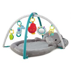Bright Starts Enchanted Elephants Activity Gym Multi can find Elephants and more on our website. Elephant Baby Rooms, Elephant Themed Nursery, Girl Nursery, Baby Elephants, Pink Elephant, Baby Play, Baby Toys, Toddler Room Decor, Baby Supplies