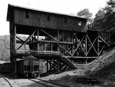 midlo coal mine structure