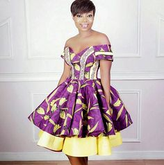Ankara Fabrics is a very Unique African Print which has been very suitable and adorable to wear to attend any Occasions in Africa . African Prom Dresses, African Dresses For Women, African Fashion Dresses, African Attire, African Wear, African Women, African Print Dress Designs, African Print Fashion, Africa Fashion