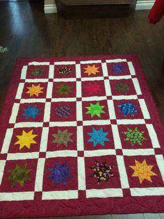 Larger star quilt