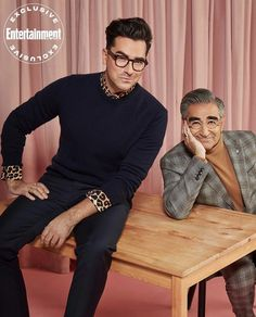 Eugene Levy, Entertainer Of The Year, Daniel Levy, Schitts Creek, Aj Styles, Entertainment Weekly, Music Tv, Celebs, Celebrities