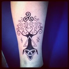 Tree With Triquetra