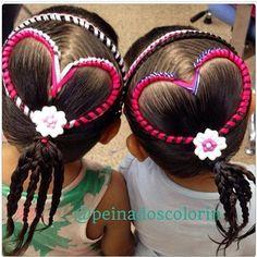 Seguimos con los #peinados y #trenzas para #sanvalentin en #colorin #peluqueria #cucuta #braids #braid #trenza #tresses #treccia #hair #girl #girls #peinadoscontrenzas