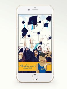 DIY Snapchat GeoFilter for College Graduation  by prettyfilters