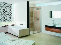 Dusche für das Badezimmer von PALME®. Corner Bathtub, Bathroom, Showers, Bath Room, Bathing, Washroom, Corner Tub, Bathrooms, Downstairs Bathroom
