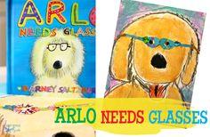 Arlo Needs Glasses Art Project