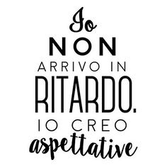"Wallsticker ""Aspettative"" nero  40 x 60 cm"