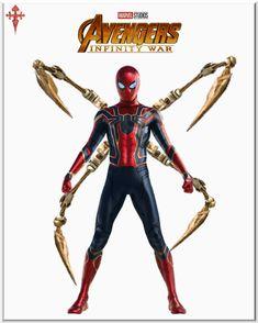 Spiderman Avengers Infinity War Iron-Spider Suit __________________________ #spiderman #avengersinfinitywar #ironspider #infinitywar #marvel #marvelstudios #ironman #thanos #capitanamerica #liveactioncomix