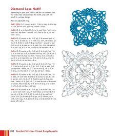 Мобильный LiveInternet Мотивы крючком - Crochet Stitches VISUAL Encyclopedia | MerlettKA - © MerlettKA® ™ | Crochet Granny, Crochet Motif, Crochet Stitches, Granny Square Tutorial, Crochet Necklace, Tapestry, Granny Squares, Simple, Hanging Tapestry