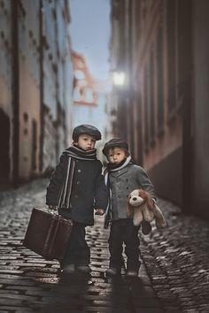 Trademark Global Tatyana Tomsickova 'Les Miserables' Canvas Art - 47 x 30 x 2 Little People, Little Boys, Cute Kids, Cute Babies, Pc Photo, Kids Photography Boys, Jolie Photo, Baby Kind, Poses