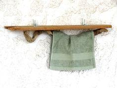 Driftwood Shelf Driftwood Hanger Bathroom Towels by SteliosArt