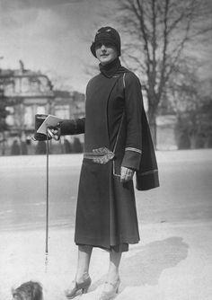 Paul Poiret, Tunique and Hat, 1925