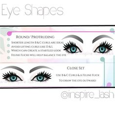 Free Printable Eye Styling Downloads available from @inspire_lash…