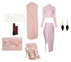 """""""Neutral, Cool"""" by women-miki ❤ liked on Polyvore featuring Iris & Ink, A.L.C. and Isabel Marant"""
