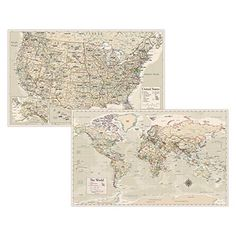 Option for Map; week 3 Wall Maps, Us Map, Sandbox, Vintage World Maps, February, The Unit, Antiques, Big, Poster