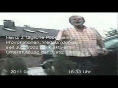 Unter Mitbeteiligung der Polizei Wörth am Rhein terrorisiert der Freckenfelder Dorfpöbel eine Familie. Auf diesen Blogs finden Sie die ausführlichen Berichte der Sachverhalte zu den Videos: http://landauerjustiz.wordpress.com http://freckenfeld.wordpress.com/  http://amtsgerichtkandel.wordpress.com