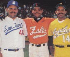 Hector Villanueva (Puerto Rico), Alex Delgado (Venezuela) y Tony Peña (Dominicana)