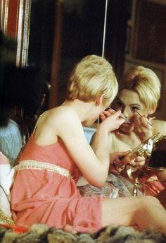 Edie Sedgwick in Andy Warhol's film Lupe (1966)