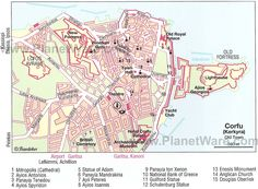 10 Top-Rated Attractions & Things to Do in Corfu Town Corfu Map, Corfu Town, Yacht Club, Town Hall, Old Town, Cemetery, Venetian, Lighthouse, Cathedral