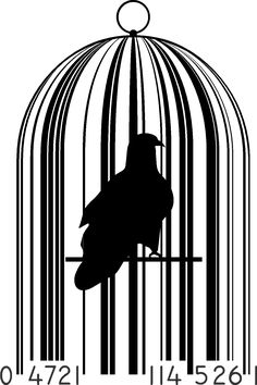 Barcode Art, Barcode Design, Graphic Design, Line Design Pattern, Bird In A Cage, Canvas Collage, Bari, Black And White, Sandro