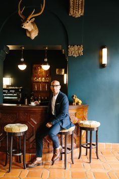 The Man Behind Palisociety Aims To Build 'Ace Hotels For Grownups' — Forbes Smeg Mini Fridge, Hotel Costes, Greenwich Hotel, Westwood Village, Ace Hotel, Eye For Detail, Cool Suits, Pattern Wallpaper, New Work