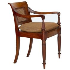 Dutch Colonial Style Mahogany Arm Chair - $1,200 on Chairish.com