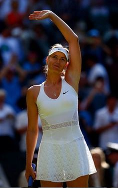Wimbledon's Best White Tennis Outfits – Maria Sharapova, Ana Ivanovic, Caroline Wozniacki - Sport News Mode Tennis, Sport Tennis, Play Tennis, Ana Ivanovic, Tennis Dress, Tennis Clothes, Tennis Outfits, Tennis Wear, Nike Clothes