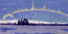 """Tom Thomson - Canada / Group of Seven - """"winter solstice"""" Group Of Seven Art, Group Of Seven Paintings, Emily Carr, Canadian Painters, Canadian Artists, Nocturne, Landscape Art, Landscape Paintings, Landscapes"""